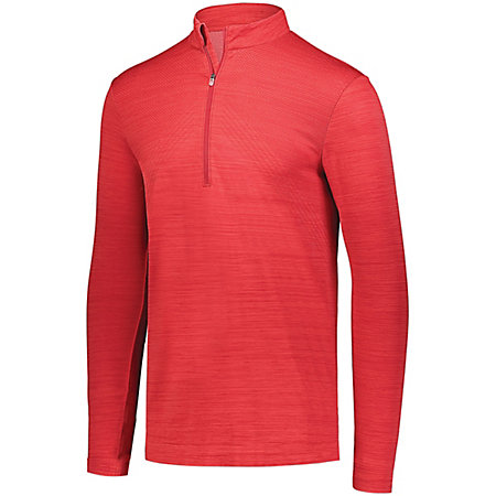 Striated 1/2 Zip Pullover