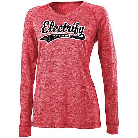 Ladies Electrify 2.0 Shirt V-Neck LS