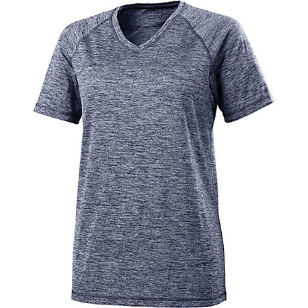 Ladies Electrify 2.0  Short Sleeve Shirt V-Neck