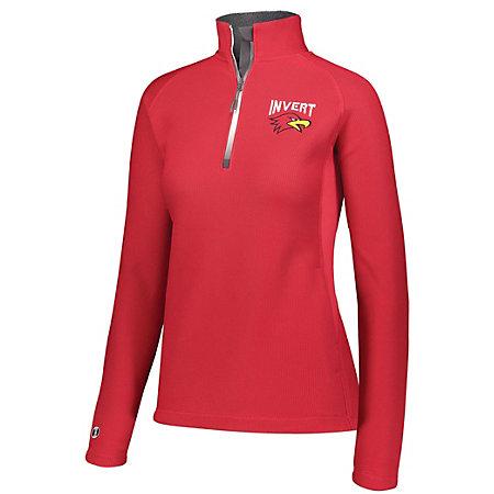 Ladies Invert 1/2 Zip Pullover