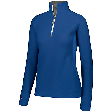 Ladies Invert 1/2 Zip Pullover