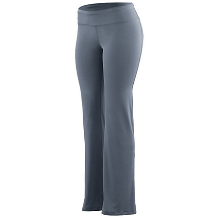 Lds Wd Waist Poly/Spandex Pant