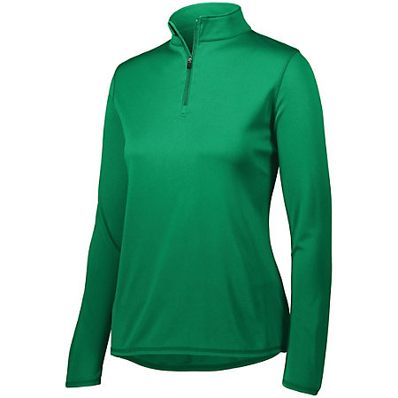 Ladies Attain 1/4 Zip Pullover