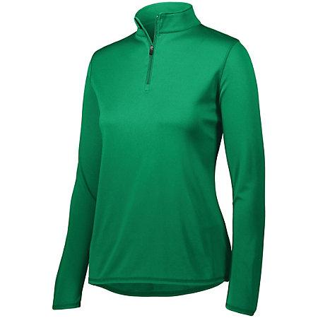 Ladies Attain 1/4 Zip Pullover
