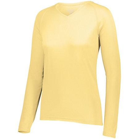 Ladies Attain Wicking Long Sleeve Shirt