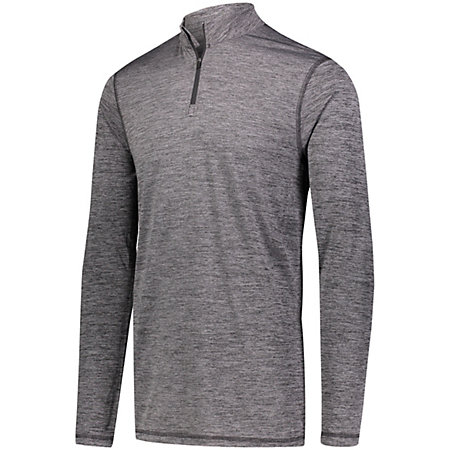 Youth Intensify Black Heather 1/4 Zip Pullover
