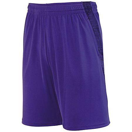 Intensify Black Heather Training Shorts