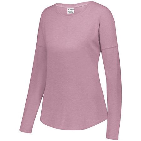 Ladies Lux Tri-Blend Long Sleeve Shirt