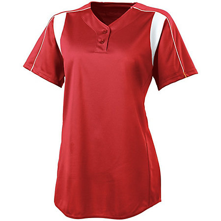 Ladies Double Play Softball Jersey