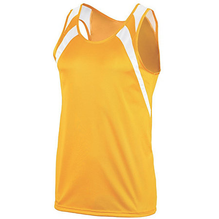Youth Wicking Tank With Shoulder Insert