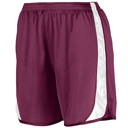 Youth Wicking Track Shorts With Side Insert