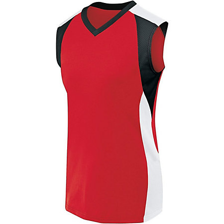 Image for Womens Sleeveless Piranha Jersey from ASG