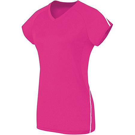 Ladies Short Sleeve Solid Jersey