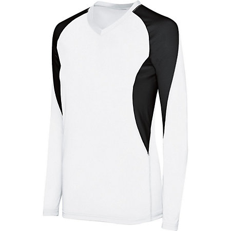 Ladies Long Sleeve Court Jersey