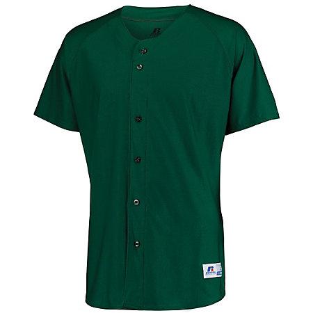 Raglan Sleeve Button Front Jersey
