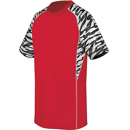 Image for Youth Evolution Printed Short Sleeve Jersey from ASG