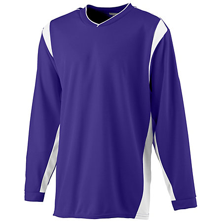 Wicking Lng Slv Warmup Shirt