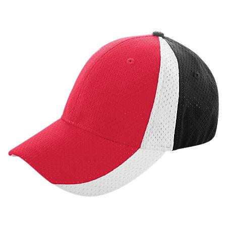 Sport Flex Three-Color Athletic Mesh Cap