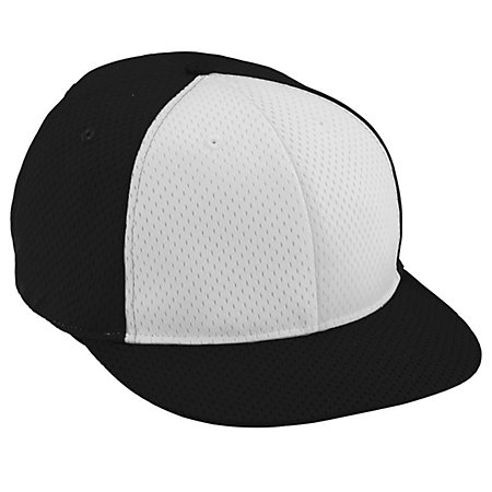 Youth Athletic Mesh Flat Bill Cap
