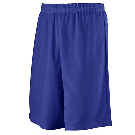 Longer Length Mini Mesh League Short