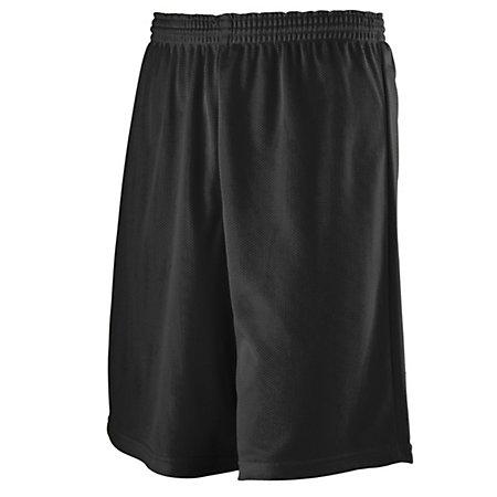 Youth Longer Length Mini Mesh League Shorts