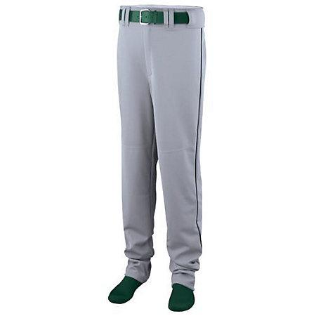 Open Bottom Baseball/Softball Pant With Piping