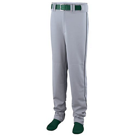 Youth Open Bottom Baseball/Softball Pant With Piping