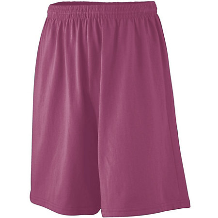 Longer Length Jersey Shorts