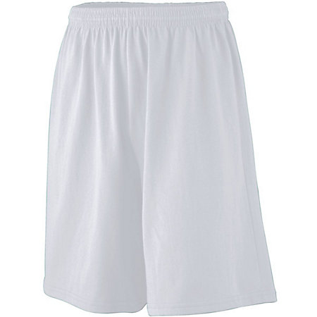 Youth Longer Length Jersey Shorts