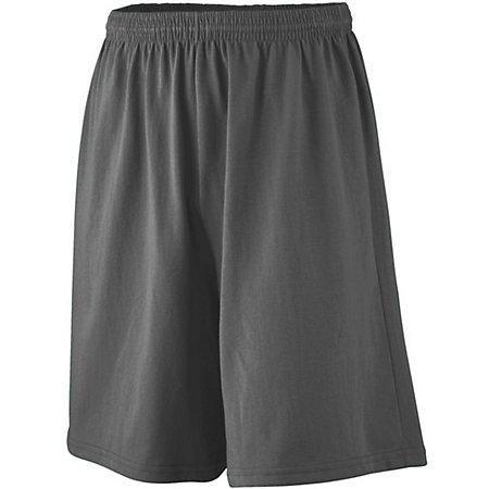 Youth Longer Length Jersey Shorts