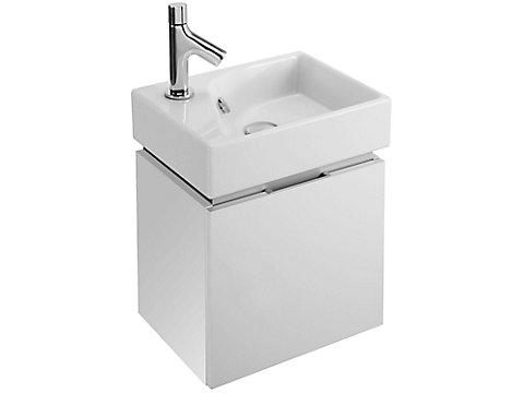 Meuble 39 cm sous lave-mains