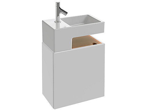 Meuble sous lave-mains