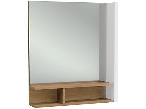 Miroir 60 cm, éclairage à droite