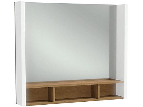 Miroir 80 cm éclairage droite/gauche
