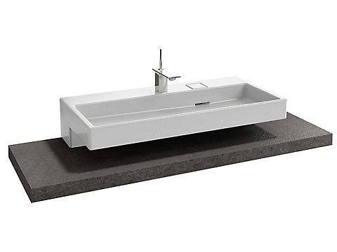 Table 150 cm, sans découpe, stratifié