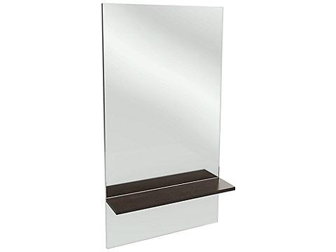 Miroir grande hauteur avec étagère 59 cm