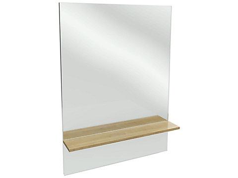 Miroir grande hauteur avec étagère 79 cm