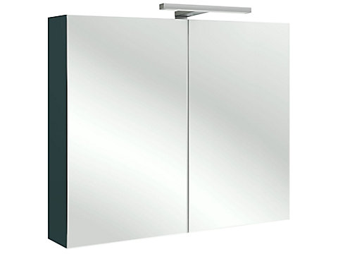 Armoire de toilette 70 cm avec éclairage LED