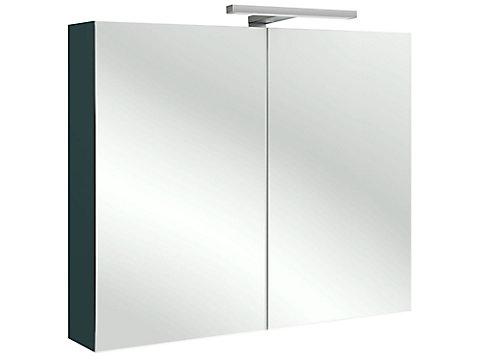 Armoire de toilette 80 cm avec éclairage LED