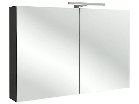 Armoire de toilette 100 cm avec éclairage LED