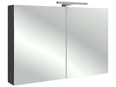 Armoire de toilette 105 cm avec éclairage LED
