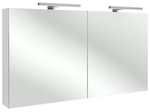 Armoire de toilette 120 cm avec éclairage LED