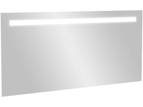 Miroir 130 cm, éclairage LED et anti-buée