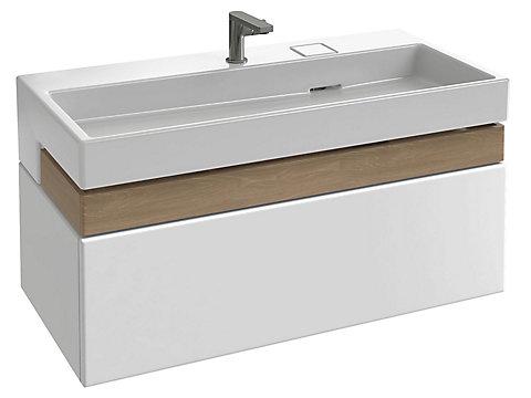 Meuble sous plan-vasque Premium 100 cm
