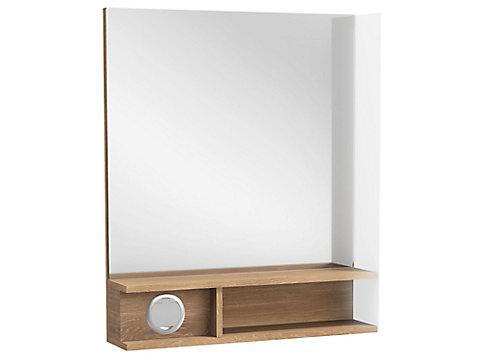 Miroir Premium 60 cm, éclairage à droite