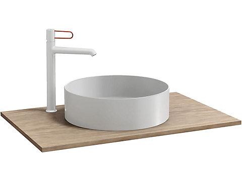 Plateau pour vasque à poser 80 cm