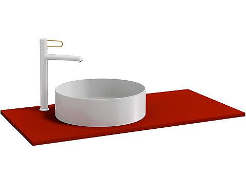 Plateau pour vasque à poser 100 cm