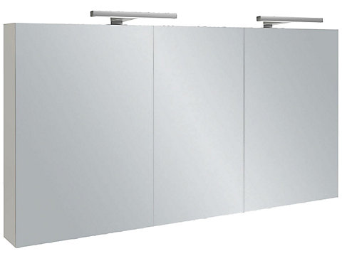 Armoire de toilette 110 cm, avec éclairage LED
