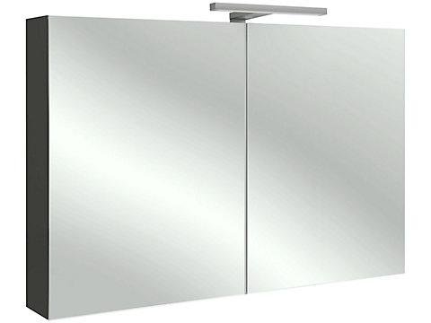 Armoire de toilette 100 cm, avec éclairage LED