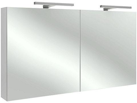 Armoire de toilette 120 cm, avec éclairage LED